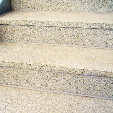 Mauer Abdeckplatten Granit Tiago 3 cm 26 cm breit