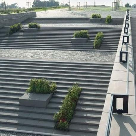 Granit Terrassen Platten Tiago hellgelb 3 cm sandgestrahlt 80 x 60 cm