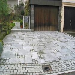 Granit Pflaster Platten Tiago Gelb 6 cm kugelgestrahlt