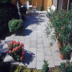 Wasserschale Granit Torso Schwarz