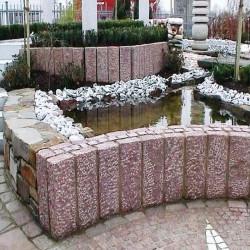 Basalt Pflaster Platten Johann 8 cm geflammt